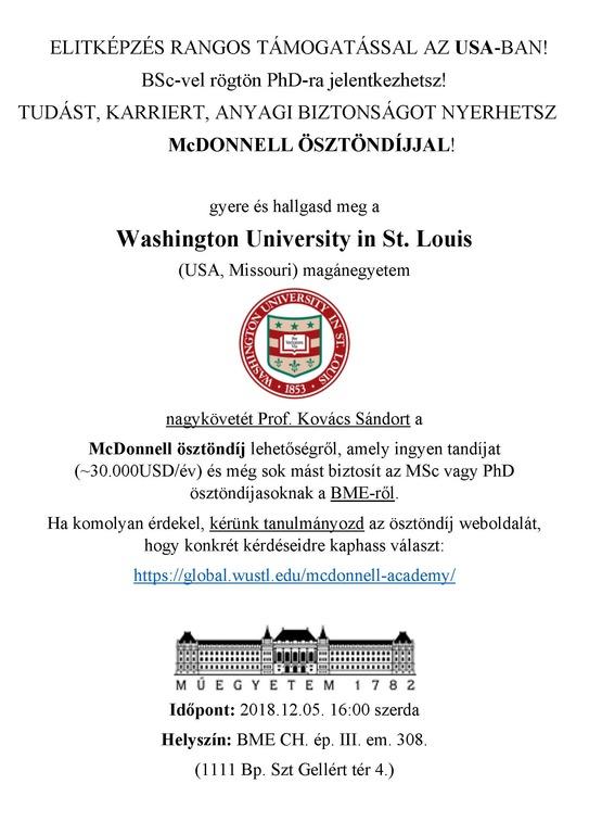 McDonell ösztöndíj